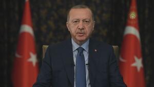 Cumhurbaşkanı Erdoğanın, 29 Ekim Cumhuriyet Bayramı mesajı