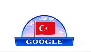 Googledan Cumhuriyet Bayramına özel logo