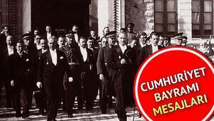En güzel 29 Ekim mesajları  Cumhuriyetin 96. yılı mesajlarla ve sözlere kutlanıyor