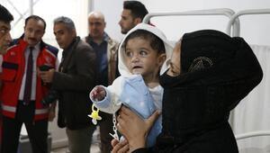 Türkiyenin onardığı Tel Abyad Hastanesi şifa dağıtmaya başladı