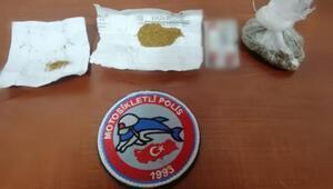 Adıyamanda uyuşturucuya 2 gözaltı
