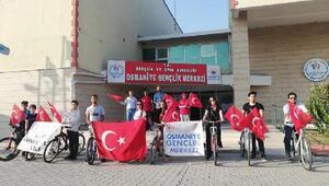 29 Ekim Cumhuriyet Bayramı bisiklet turu etkinliği