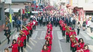 Mudanyada 29 Ekim Cumhuriyet Bayramı Coşkusu