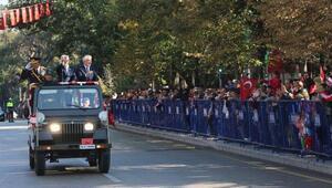 Ispartada 29 Ekim töreni