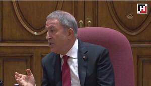 Milli Savunma Bakanı Akar, açıklamalarda bulundu