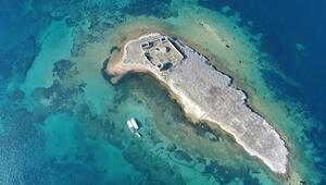 Edremit Körfezinin antik haritası çıkarılıyor