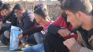 Hatayda 102 düzensiz göçmen yakalandı