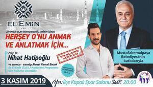 Prof. Dr. Nihat Hatipoğlu Mustafakemalpaşa'da konferansa katılacak