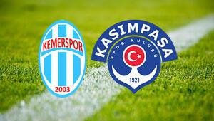 Kemerspor Kasımpaşa maçı saat kaçta ve hangi kanalda