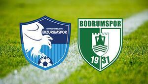 BB Erzurumspor Bodrum Bld maçı saat kaçta ve hangi kanalda
