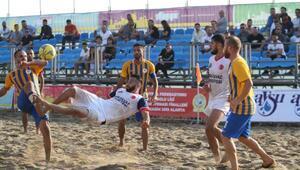 Plaj Futbolu Şampiyonası finalleri başladı