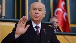 Son dakika: MHP Genel Başkanı Bahçeliden ABDye tepki: Tek kelimeyle hükümsüzdür