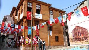 Tekirdağda restore edilen Türk-Macar Kültür Evi açıldı