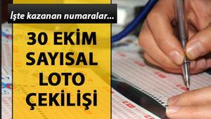 Sayısal Lotoda 6 milyon TL haftaya devretti - 30 Ekim MPİ Sayısal Loto çekiliş sorgulama