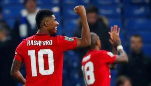 Manchester United, Lig Kupasında Chelseayi saf dışı bıraktı Rashford...
