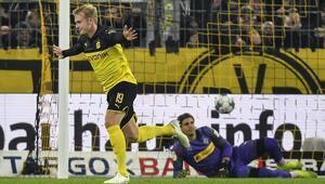 Dortmund geriden gelip kazandı MGladbach, Almanya Kupası dışında kaldı...