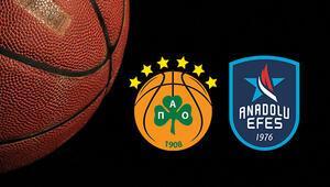 Panathinaikos Anadolu Efes basket maçı bu akşam saat kaçta ve hangi kanalda Potada nefesler tutuldu