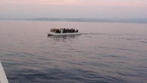 Seferihisar ve Çeşmede 95 kaçak göçmen yakalandı