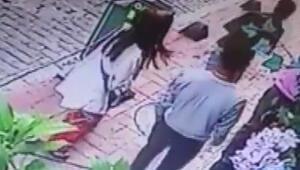 O anlar kamerada... Çinli kadın şaşkına döndü