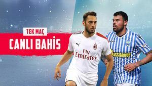 Hakan Çalhanoğlunun maçına iddaada CANLI BAHİS oyna