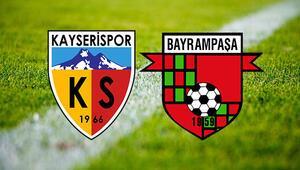 Kayserispor Bayrampaşa ZTK maçı saat kaçta ve hangi kanalda