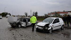 Tekirdağda kaza: 2 yaralı