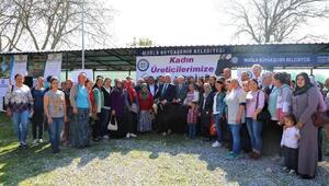 Muğla Büyükşehirden 40 kadın üreticiye toplam 120 kıl keçisi desteği