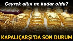 Çeyrek altının alış fiyatı kapanışta ne kadar oldu 31 Ekim yarım, gram ve tam altın fiyatları