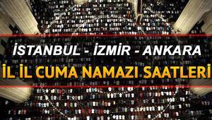 Cuma namazı 1 Kasımda saat kaçta kılınacak Türkiye geneli il il cuma namazı vakitleri