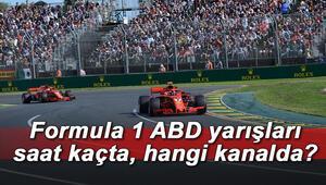Formula 1 ABD yarışı ne zaman, saat kaçta ve hangi kanalda yayınlanacak