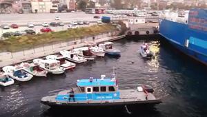 Tekneye uyuşturucu baskını