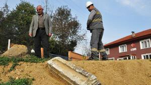 Gurbetçinin bahçesinde bulundu Bizans dönemine mi ait