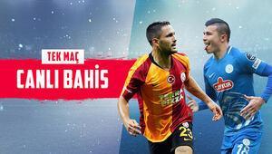 G.Sarayın konuğu Rizespor Aralarındaki son 10 maçın 6sı berabere, iddaa oranı...