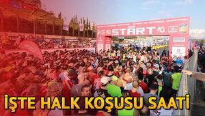 Vodafone İstanbul Maraton koşusu ne zaman, saat kaçta başlıyor Hangi  yollar kapalı olacak