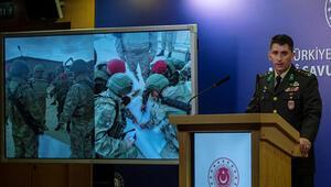 Sınırda hareketli gün Milli Savunma Bakanlığı detayları paylaştı