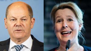 SPD'de 'Scholz Giffey'le olsun' sesleri