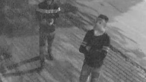 Kütahyada, hırsızlık şüphelileri kameraya yakalandı