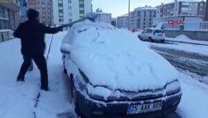 Doğu Anadoluda kar yağışı etkili oluyor