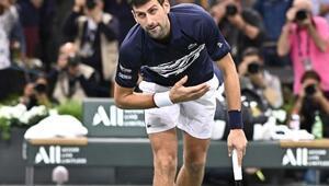 Novak Djokovic, Paris Masters Tenis Turnuvasında finale yükseldi