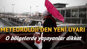 Pazar günü hava nasıl olacak 3 Kasım Türkiye geneli il il hava durumu tahminleri