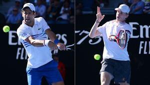 Paris Mastersta finalin ismi Djokovic-Shapovalov