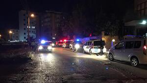 15'e yakın polis ekibi sevk edildi... Ortalığı birbirine kattılar