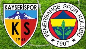 Kayserispor - Fenerbahçe maçı hangi kanalda saat kaçta yayınlanacak Muhtemel 11ler