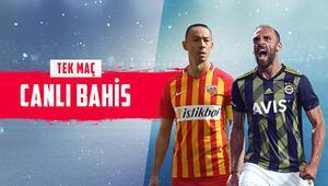 Fenerbahçe, Kayseri deplasmanında iddaada yüksek oranlı tercih...