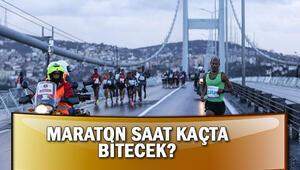 Vodafone maraton koşusu saat kaçta bitecek Yollar saat kaçta açılacak