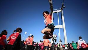Vodafone 41. İstanbul Maratonundan öne çıkan fotoğraflar