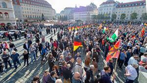 Aşırı sağcıların kalesi Dresden'de 'Nazi olağanüstü hâli'
