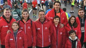 Eski milli sporcular maratonda