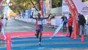 İstanbul Maratonunda birinciler belli oldu
