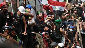 Iraktaki sivil itaatsizlik eylemleri genişliyor